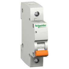 12479 - Domae MCB - miniature circuit-breaker - 1P - 6A - C Curve - 4500A, Schneider Electric