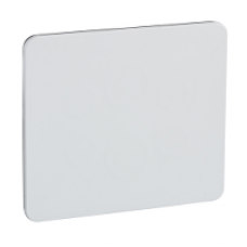 13138 - 90 x 100 mm plate - for 3 x 22 mm diameter controls, Schneider Electric