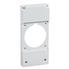 13144 - 103 x 225 mm plate - for 100 x 107 mm outlet, Schneider Electric