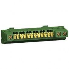 13409 - earth terminal block - 15 points - for Opale Mini pragma, Schneider Electric