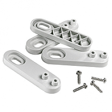 13935 - wall mounting lugs - set of 4, Schneider Electric