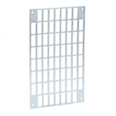 13941 - slotted plate - 100 x 250 mm, Schneider Electric