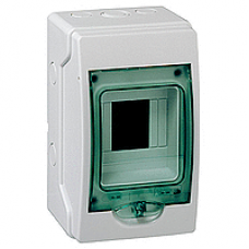13976 - mini Kaedra - for modular device - 1 openings - 4 modules, Schneider Electric