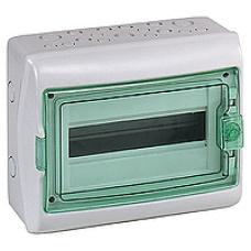 13981 - Kaedra - for modular device - 1 x 12 modules - 1+1 terminal blocks, Schneider Electric