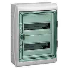 13983 - Kaedra - for modular device - 2 x 12 modules - 1+1 terminal blocks, Schneider Electric