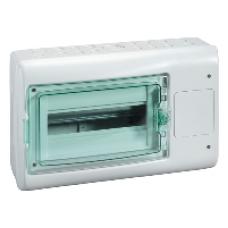 13990 - Kaedra - for modular device with interface - 1x12 modules - 1+1 terminal blocks, Schneider Electric
