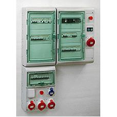 13992 - Kaedra - for modular device with interface - 3x12 modules - 1+1 terminal blocks, Schneider Electric