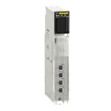 140NOC78100 - Modicon Quantum Ethernet control network module - RJ45 - 10/100 Mbit/s, Schneider Electric