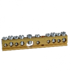 14964 - Terminal block - 80 A - 10 holes, Schneider Electric