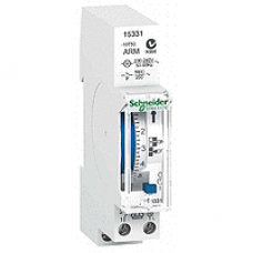 15331 - Acti 9 - IHH - mechanical time switch - 7 days - 100 h memory, Schneider Electric