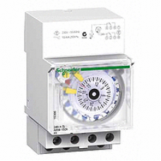 15366 - Acti 9 - IH - mechanical time switch - 24 hours + 7 days - 150 h memory, Schneider Electric