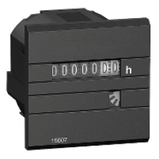 15607 - hour counter - mechanical 7 digit display - 24V AC 50Hz, Schneider Electric