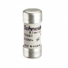 15661 - fuse cartridge - NFC 10.3 x 25.8 mm - cylindrical - B 16 A, Schneider Electric