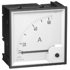 16009 - analog ammeter scale - 0..50 A, Schneider Electric