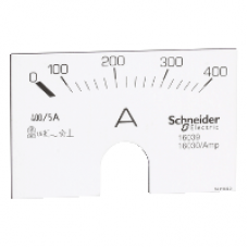 16039 - analogammeterscale-0..400A, Schneider Electric