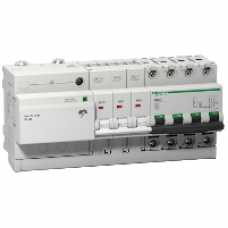 16305 - Combi SPU - circuit breaker with integrated overvoltage protection 3P + N 25A, Schneider Electric