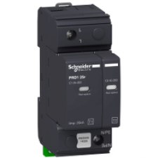 16329 - PRD1 25r modular surge arrester - 1 pole - 350V - with remote transfer, Schneider Electric