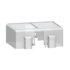 16553 - sealable cover 82 x 51 x 25 mm - for current transformer TI, Schneider Electric