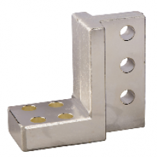 33643 - 4 vertical connection adaptor - 4 poles - for Masterpact NT/  Compact NS