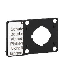 Arret DUrgence Schneider Electric ZB6Y7130 Marked Legend Plate 45mm