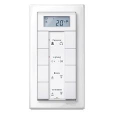 Schneider A9E18032 Single Push Button White Set of 12 Pieces