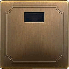 MTN570943 - TELE sensor cover antique brass Artec/Trancent/Antique, Schneider Electric