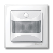 MTN572819 - ARGUS 180 flush-mounted sensor module with switch polar white glossy System M, Schneider Electric