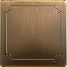 MTN573743 - Sensor cover antique brass Artec/Trancent/Antique, Schneider Electric