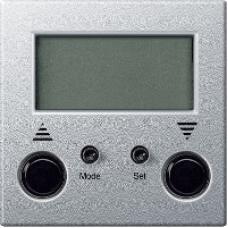 MTN581960 - Standard blind time switch aluminium System M, Schneider Electric