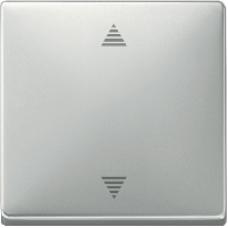MTN584246 - Blind push-button stainless steel Artec/Trancent/Antique, Schneider Electric