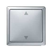 MTN584260 - Blind push-button aluminium Artec/Trancent/Antique, Schneider Electric