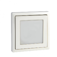 MTN585819 - Central plate with window polar white Artec/Trancent/Antique, Schneider Electric