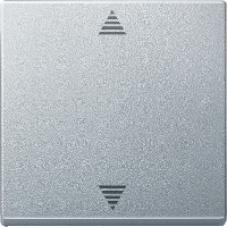 MTN586260 - Blind push-button aluminium System M, Schneider Electric