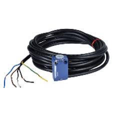 ZCMD25L5 - limit switch body ZCMD - 1NC+1NO - silver - slow-break - connection - 5 m, Schneider Electric