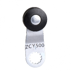 ZCY500 - limit switch lever ZCY - thermoplastic spring return roller lever L = 42.5 mm, Schneider Electric
