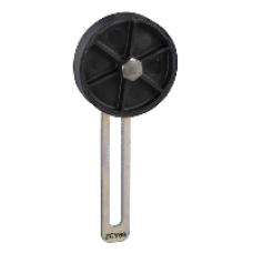 ZCY69 - limit switch lever ZCY - th.plastic roller lever Ø50mm var.length adjust. track, Schneider Electric