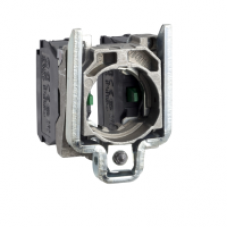 ZD4PA1033 - contact block with body/fixing collar for 2-direction joystick controller, Schneider Electric