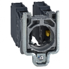 ZD4PA203 - contact block with body/fixing collar for 4-direction joystick controller, Schneider Electric